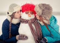 фотосессия на улице зимой позы 12