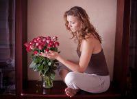 фотосессия с розами 8