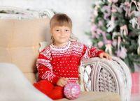 Фотосессия в свитере 5