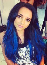 голубые волосы8