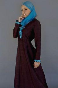 исламские платья 9