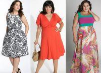 какие платья идут полным девушкам 5