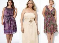 какие платья идут полным девушкам 6