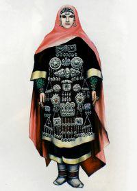 кавказская национальная одежда 1