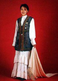 казахская национальная одежда 1