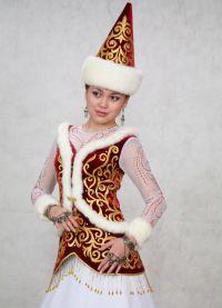 казахская национальная одежда 9