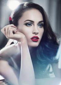 макияж под бирюзовое платье 2