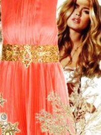 макияж под персиковое платье 1