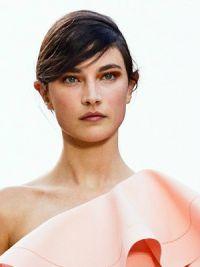 макияж под персиковое платье 10