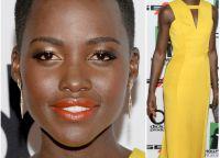 макияж под желтое платье 5