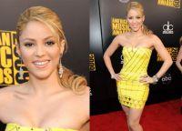 макияж под желтое платье 6