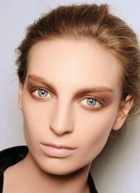 макияж в стиле нюд 8