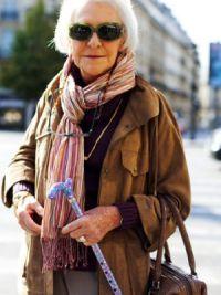 мода для пожилых женщин 1