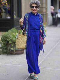 мода для пожилых женщин 8