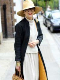 мода для пожилых женщин 9