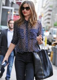 Модные блузки шифоновые 2014