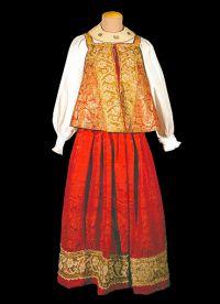 национальная одежда россии 11