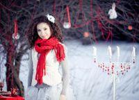 образы для зимней фотосессии 7
