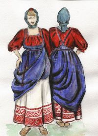 одежда древних славян 2