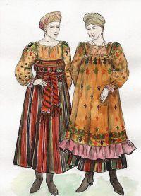 одежда древних славян 4