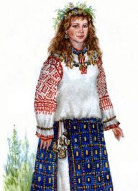 одежда древних славян 5