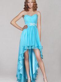 Платье длинное сзади короткое спереди 2