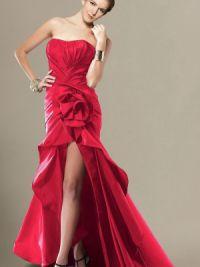 Платье длинное сзади короткое спереди 3