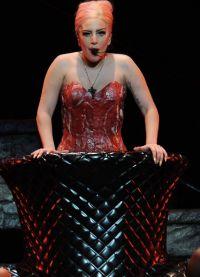платье из мяса леди гага 4