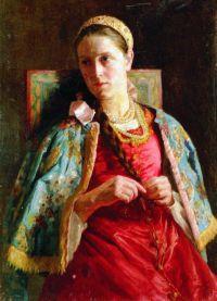 Русский женский народный костюм 1