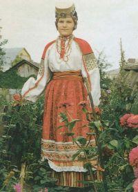 Русский женский народный костюм 12