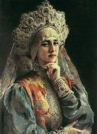 Русский женский народный костюм 2
