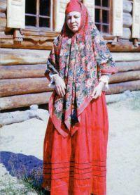 Русский женский народный костюм 7
