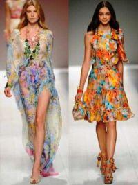С чем носить шифоновое платье 12