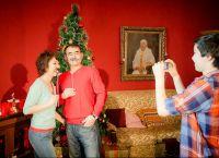 Семейная новогодняя фотосессия 2