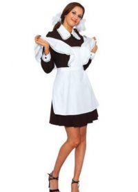 Школьное платье с фартуком 5