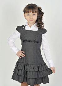 школьные платья для девочек 4