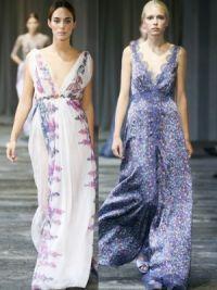 Летние платья и сарафаны 2015 8