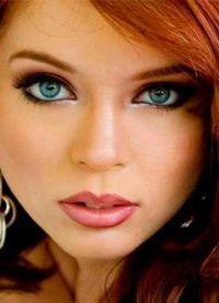 Макияж для больших голубых глаз