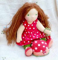 вальдорфская кукла мастер класс 19