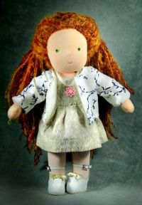 вальдорфская кукла мастер класс 20