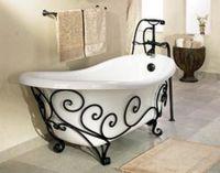 мебель для ванной кованая3