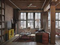Мебель в стиле лофт  1