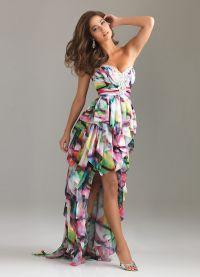 модели платьев из шифона 1