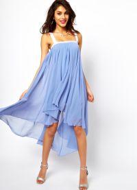 модели платьев из шифона 2