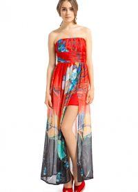 модели платьев из шифона 4