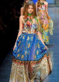 модели платьев из шифона 7