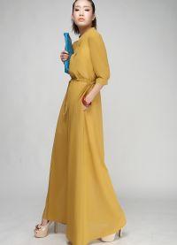 модели платьев из шифона 8