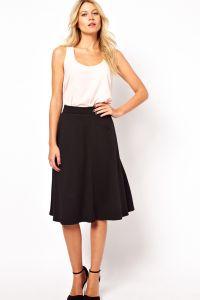 модели юбок для женщин с выступающим животом10