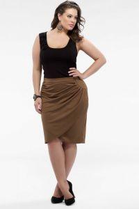модели юбок для женщин с выступающим животом14