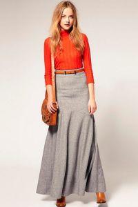модели юбок для женщин с выступающим животом18